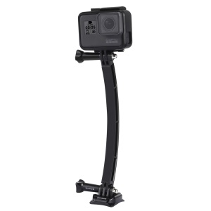 PULUZ PU78 Outdoor Motorcycle Cycling Helmet Extension Arm Set for GoPro Hero 6/5/5 Session/4 Session