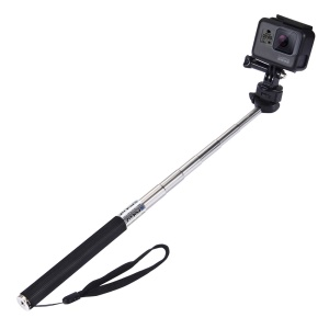 PULUZ PU55 Extendable Selfie Stick Adjustable Telescoping Handheld Monopod Pole for GoPro Hero 7/6/5/5 Session/4Session/4/3+/3/2/1, DJI Osmo Action Camera
