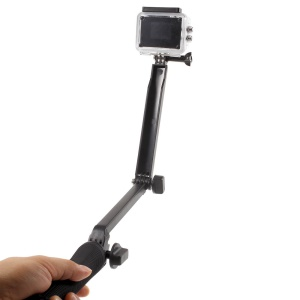 Multi-functional Foldable Stand Selfie Monopod + Tripod Stand for GoPro Hero