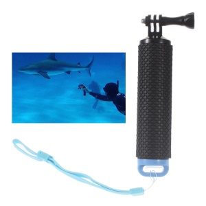 Floating Pole Camera Hand Grip + Thumbscrew + Strap for GoPro Hero/SJCAM/Xiaomi Yi - Blue