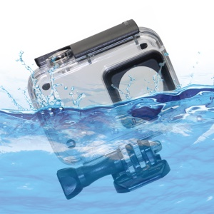 Underwater Waterproof Housing Case for Xiaoyi 4K Action Camera - Black