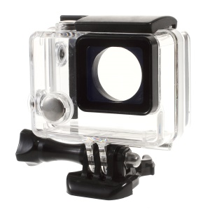 Expansion Waterproof Housing Case for GoPro Hero 3+/4 with LCD