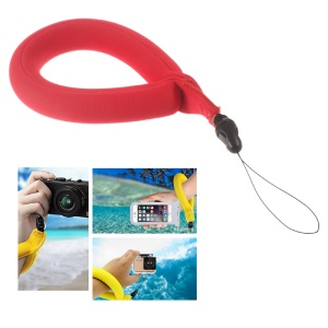 LINGLE Waterproof Floating Camera Wrist Strap for Underwater GoPro/Panasonic Lumix/Samsung Galaxy Note7/iPhone 6s - Red