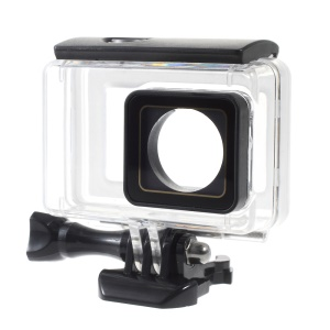 LINGLE Touchable Screen 45M Underwater Waterproof Housing Case for Xiaoyi 4K Action Camera
