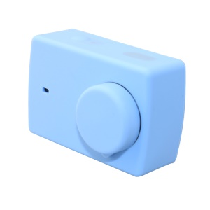 Silicone Soft Case with Lens Cap for Xiaoyi II 4K Sport Camera - Blue