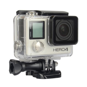 Waterproof Frame Housing Protective Cover for GoPro Hero 3+ / 4 Action Camera - Transparent