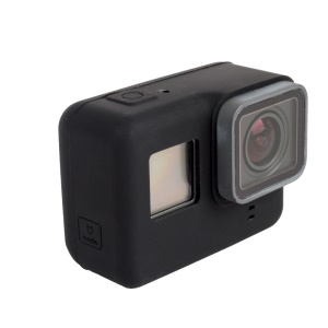 Silicone Housing Case Protector for GoPro Hero 5 Black Action Camera - Black