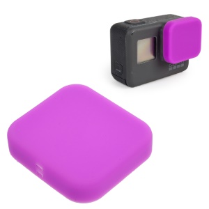For GoPro Hero 5 Black Gel Silicone Camera Lens Protective Cover  - Purple
