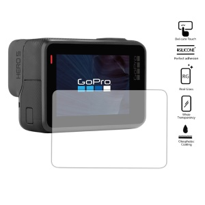 For GoPro Hero 5 Black LCD Tempered Glass Screen Protector Guard
