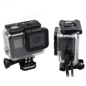 Cable-through Side Opening Protective Housing Case for GoPro Hero 5 Black Action Camera