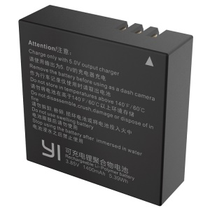 OEM AZ16-1 Rechargeable Li-polymer Spare Battery for Xiaoyi II 4K Action Camera