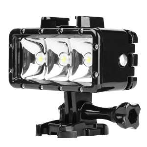 SHOOT Waterproof Diving Light Rechargeable Dimmable LED Lamp Set for GoPro / SJCAM / Xiaoyi etc