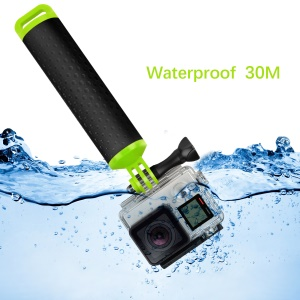 XTGP 279 Plastic + Rubber Floaty Bobber Camera Hand Grip for Gopro Hero 5 Black/4/3+/3/2/1 Xiaomi Yi etc. - Green