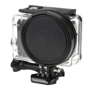 XTGP383 58mm UV Ultra-Violet Filter Lens with Lens Cover and Adapter for GoPro Hero5 Black