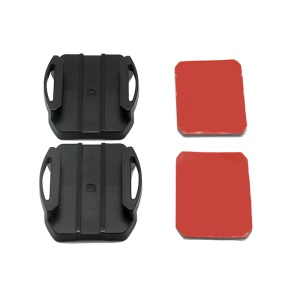 AS10 (S3) 2 x Curved Surface Adhesive Mount Pack for Sony Action Cam HDR-AS200V/ HDR-AS300 Etc