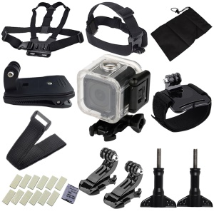 28 in 1 GoPro Accessories Kit for GoPro Hero4/Hero5 Session with Chest Belt Headband