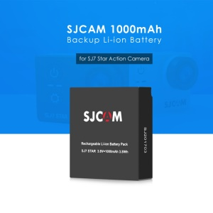 SJCAM 3.8V 1000mAh Backup Rechargeable Li-ion Battery for SJCAM SJ7 Star Action Camera