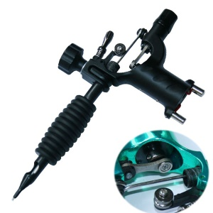 Dragonfly Rotary Tattoo Machine Shader with Silent Motor - Black