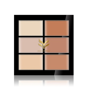 HUAMIANLI Six Color Correcting Concealers - The Underpainting Color