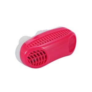 Upgrade Anti-Snoring Device Air Purifier Silicone Snore Stopper Sleep Helper - Red