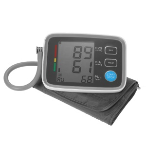 U80EH FDA LCD Upper Arm Automatic Blood Pressure Monitor Measurement Heart Beat Meter Tonometer
