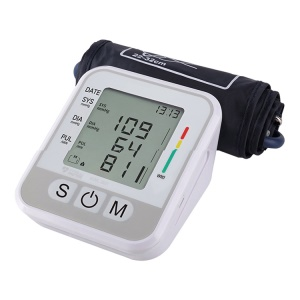 KWL-B01 Automatic Upper Arm Blood Pressure Monitor with Large LCD Screen, 2 User, 2x99-Reading Memory