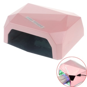 Diamond Pattern 36W LED CCFL Nail Dryer Curing Lamp Machine for UV Gel Nail Polish