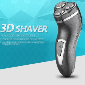 KEMEI Waterproof Rechargeable 3D Electric Shaver (KM-890) - EU Plug