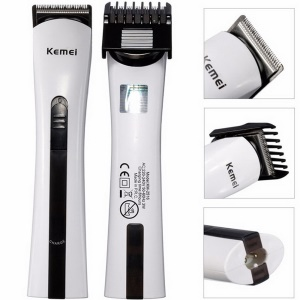 KM-2516 Rechargeable Hair Trimmer Baby or Pet Clipper - EU Plug