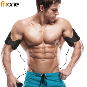FITTONE  Portable EMS Body Muscle Trainer Muscle Toner Stimulator