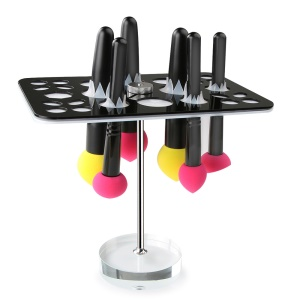 AMOVEE Makeup Brush Tree Holder Collapsible Dryer