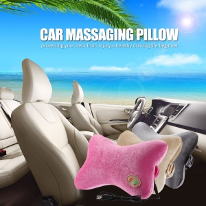 YILON Electric Neck Back Massage Pillow for Car Home Office (YL-60202) - Pink