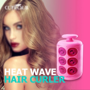 Heat Wave Hair Curler Natural Rapid Styling Manual Solon Curling - EU Plug