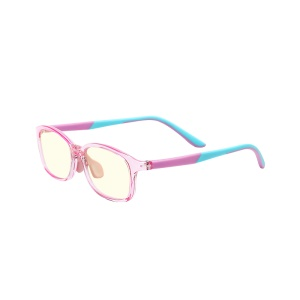 XIAOMI MIJIA HMJ03TS Kids Glasses Blue-light Resistant with Clear Lens  - Pink