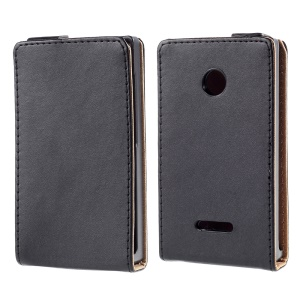 South Korea Style Vertical Leather Case for Microsoft Lumia 435 / Dual Sim
