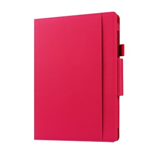 Leather Protective Case for Microsoft Surface 3 with Stand - Rose