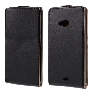 South Korea Style Vertical Leather Magnetic Case for Microsoft Lumia 540 Dual Sim