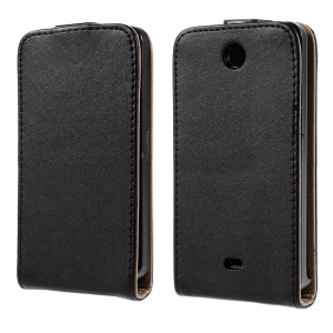 South Korea Style Vertical Leather Case for Microsoft Lumia 430 Dual SIM
