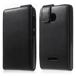 Vertical Leather Magnetic Case for Microsoft Lumia 532 / Dual Sim