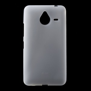 Double-sided Matte TPU Gel Case for Microsoft Lumia 640 XL / Dual SIM - White