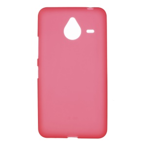 Double-sided Matte TPU Shell for Microsoft Lumia 640 XL / Dual SIM - Red