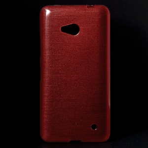 Red TPU Case for Microsoft Lumia 640 Dual Sim / 640 LTE(Glossy Outer Brushed Inner)