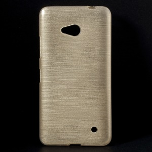 Champagne Gel TPU Shell for Microsoft Lumia 640 Dual Sim / 640 LTE (Glossy Outer Brushed Inner)