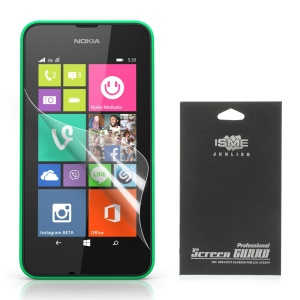 Ultra Clear Screen Protective Film for Nokia Lumia 530 RM-1019 RM-1017 (With Black Package)