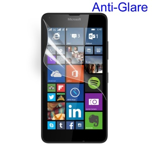 For Microsoft Lumia 640 Dual SIM / 640 LTE Frosted Anti-glare Screen Protector Guard