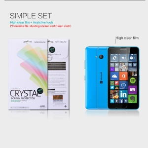 NILLKIN Ultra Clear Screen Film for Microsoft Lumia 640 Dual Sim / 640 LTE Anti-fingerprint