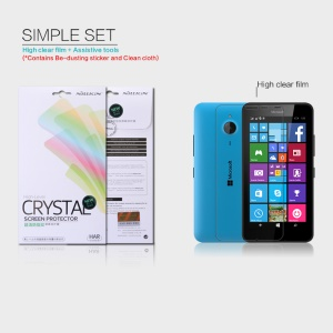 NILLKIN Ultra Clear Screen Film for Microsoft Lumia 640 XL / Dual SIM Anti-fingerprint