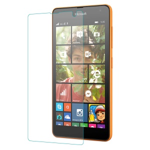 0.25mm Explosion-proof Tempered Glass Screen Film for Microsoft Lumia 535 / 535 Dual SIM (Arc Edge)
