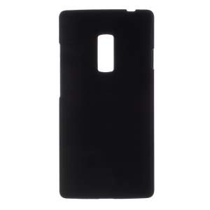 Rubberized PC Hard Cover for OnePlus 2 - Black