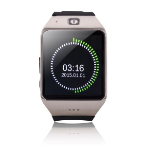 UHAPPY UW1 V3.0 Bluetooth Smart Watch Phone with Pedometer Sleep Monitor etc Function - Silver Color